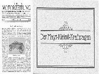 Mayr-Kleinst-Kraftwagen