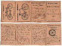 1896 Cycles Terrot  Prix net