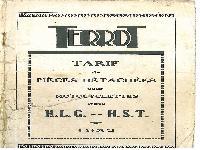 1932 Terrot  HLG HST