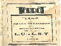 1932 Terrot  LU LST