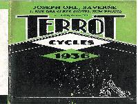1936 Terrot Cycles