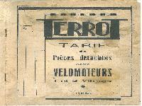1939 Terrot Motos