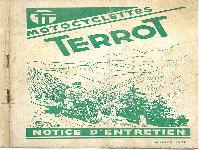 1952 Terrot Notice