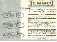1953 Terrot Cycles