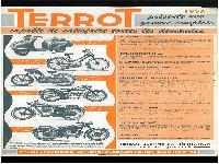1956 Terrot  Gamme