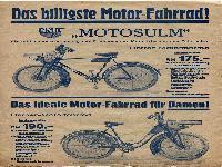 NSU Motosulm Preisliste