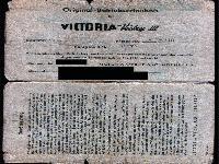 Victoria Betriebserlaubnis