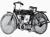 Neckarsulmer Einzylinder-Touristenmotorrad