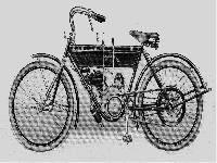 Leichtes Neckarsulmer Motorrad