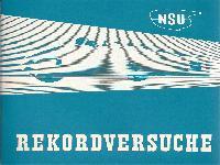 NSU Rekordversuche 1951