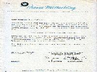 BMW Isetta Pressemitteilung, München 19.9.1958