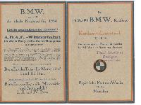 """BMW Typ R32 - """"Das ideale Kraftrad"""""""