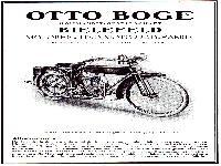 Prospekt Boge Motoren- und Motorradfabrik