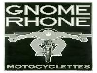Aufkleber Gnome Rhone