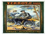 Terrot & C, Dijon Aufkleber