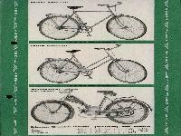 Wanderer Sportrad und Motorfahrrad