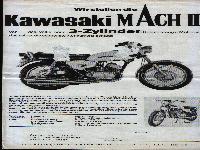 Kawasaki Mach II 3-Zylinder