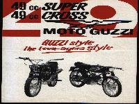 "49cc Super und 49cc Cross MOTO Guzzi - ""GUZZI style - the teen-agers style"""