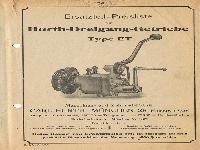 Ersatzteil-Preisliste für Hurth-Dreigang-Getriebe Type ET