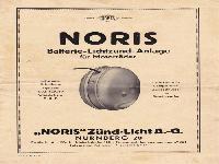 Noris Batterie-Lichtzünd-Anlage für Motorräder