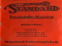 Standard Ersatzteile-Katalog für Motorräder