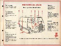 SHELL-Führer für den Tank- und Pflegedienst: Ford FK 1000 1,2ltr. und 1,5ltr.