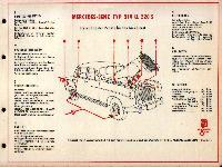 SHELL-Führer für den Tank- und Pflegedienst: Mercedes-Benz Typ 219 u. 220 S