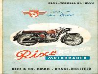 Rixe RS 100/3 Motorräder