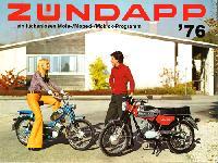 ZÜNDAPP ... ein lückenloses Mofa-/Moped-/Mokick-Programm