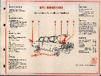 SHELL-Führer für den Tank- und Pflegedienst: Opel Rekord 1963