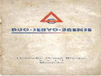 Wanderer - Duo - servo - Bremse/ deutsche Perrot-Bremse