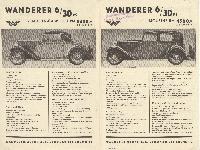 Wanderer 6/30 PS März 1932