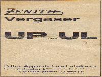 Wanderer Zenith - Vergaser UP und UL