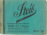 STEIB Katalog 1932 - Ideal