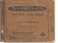 Sunbeam Instruction Book 1939