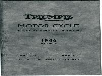 Triumph Ersatzteilliste 1946