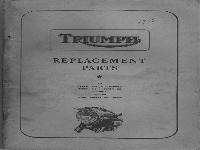 Triumph Ersatzteilliste 1956