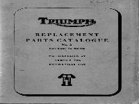 Triumph Ersatzteilliste 1964