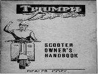 Triumph Tina Handbuch 1962