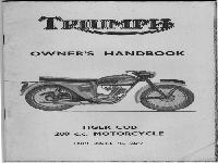 Triumph TigerCub Handbuch 1964