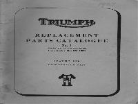 Triumph Ersatzteilliste 1966