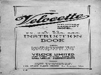 Velocette 1930 kseries manual