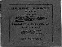 Velocette 1948 MSS