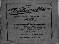 Velocette 1949