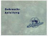 Victoria Bergmeister Gebrauchsanweisung