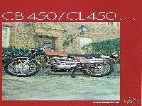 Honda CB 450 / CL 450 Scrambler