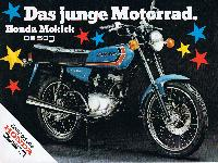 Das junge Motorrad. Honda Mokick CB 50J