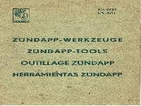 Zündapp Werkzeuge KS 600, KS 601
