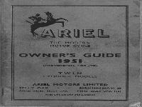 Ariel 1951 twins manual