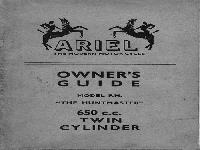 Ariel 1958-1959 huntmaster manual